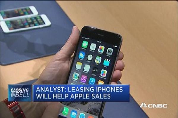 SHOULD APPLE LEASE THE IPHONE?
